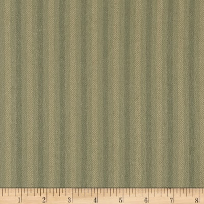 Tape Measure Brushed Yarn Dye Stripe Gray
