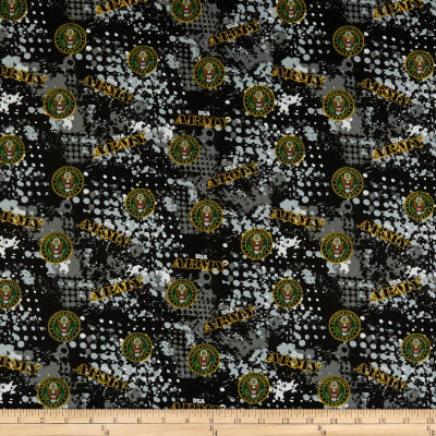 Military Army Abstract Geometric Allover Multi