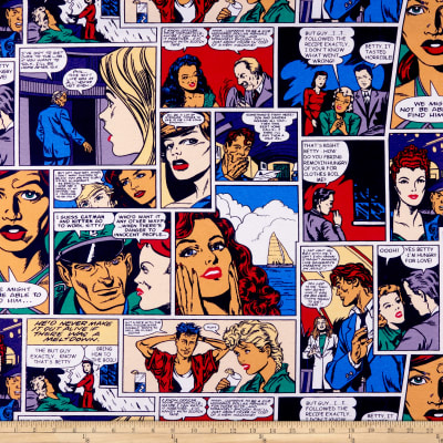 ArtCo Prints Canvas Comics Multi