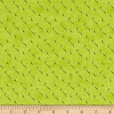 Stof Fabrics Denmark Petits Motifs Dots Structure Lime