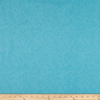 Stof Fabrics Denmark Bright Mini Leaf Textured Ocean