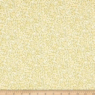 Stof Fabrics Denmark Basic Twist Vines & Leaves Cream