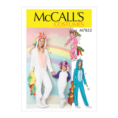 McCall's M7852 Childern's/Girls' Costume Pattern ( 2 or more size combinations)