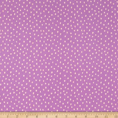 Monaluna Organic Fabrics In the Mix Dots Lavender