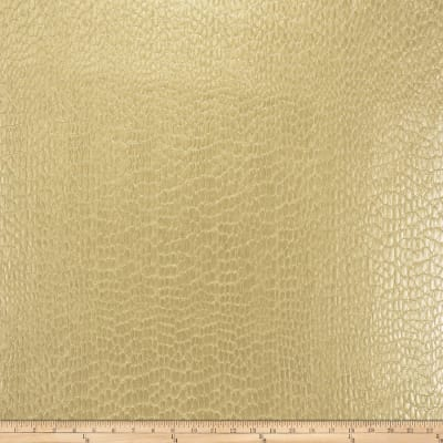 Fabricut Zirconium Alloy Faux Leather Gold