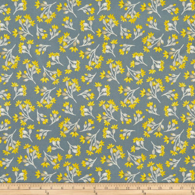 Windham Eliana Floral Buds Charcoal