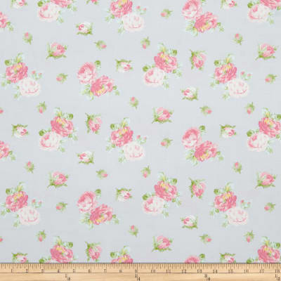 Whistler Studios Roslyn Spaced Roses Grey