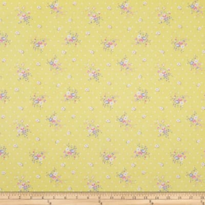 Whistler Studios Roslyn Dotted Floral Yellow