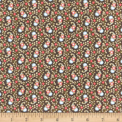 Windham Colonial Williamsburg Paisley Charcoal