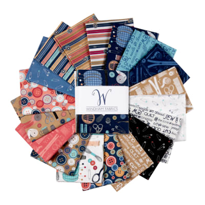 Windham Crafters Gonna Craft Whistler Fat Quarters Multi 18 pcs