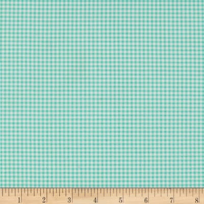 Heather Ross Gingham Aqua