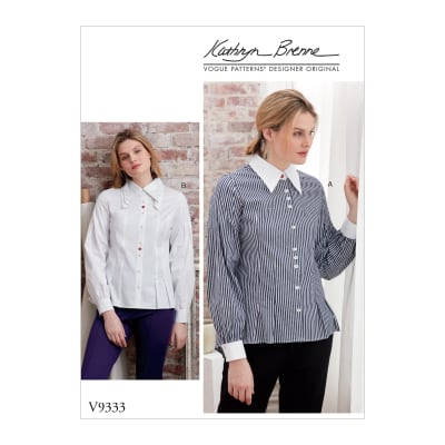Vogue V9333 Misses' Top Pattern (Sizes 6-14)
