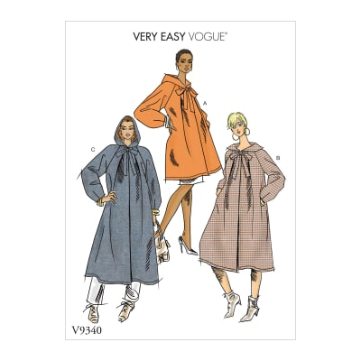 Vogue V9340 Misses' Outerwear Pattern Y (Sizes XS-M)