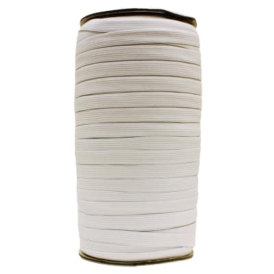 "AbbeyShea 3/4"" Elastic White (114 Yards, Roll)"