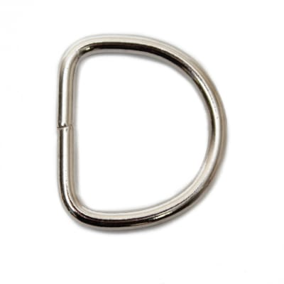 "AbbeyShea 1"" D-Ring Welded Steel (25 Pack)"