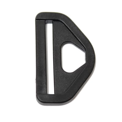 "AbbeyShea 1 1/2"" Snap D-Ring Black (100 Pack)"