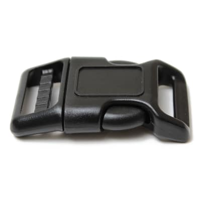 "AbbeyShea 1"" Detail Buckle Black (100 Pack)"