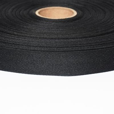 "AbbeyShea 3/4"" Polyester Twill Tape Black"