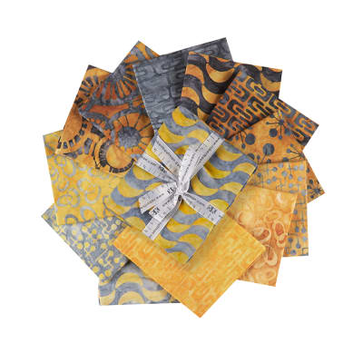 Kaufman Fat Quarter Bundle AB: Helsinki Gold