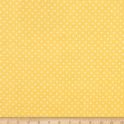 Riley Blake Swiss Dot Flannel Sunshine