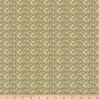 Penny Rose Sweet Stems Floral Green