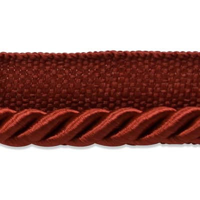 "Emmerson 1/4"" Twisted Lip Cord Trim Cranberry"