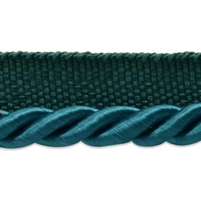 "Emmerson 1/4"" Twisted Lip Cord Trim Teal"