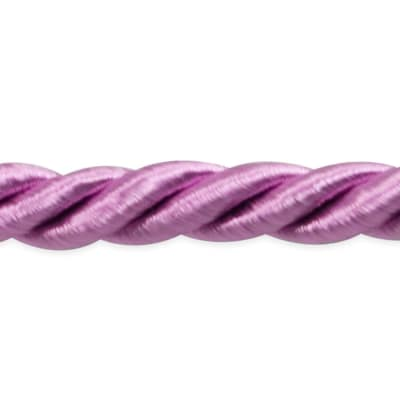 "Rebekah 1/4"" Twisted Cord Trim Rose"
