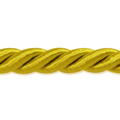 "Rebekah 1/4"" Twisted Cord Trim Yellow Gold"
