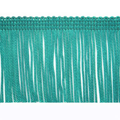 "2"" Chainette Fringe Trim Blue"