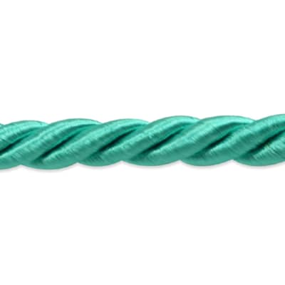 "Charlotte 3/16"" Twisted Cord Trim Aqua Blue"