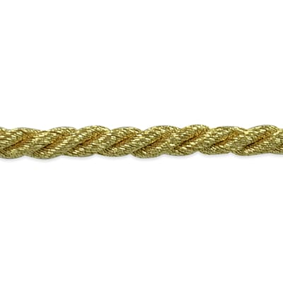 "Phoenix 1/8"" Twisted Cord Trim Metallic Gold"