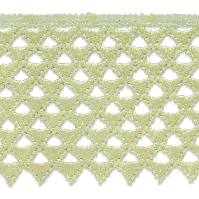 """Extended Magdalena Lace Trim 3"""" Ivory"""