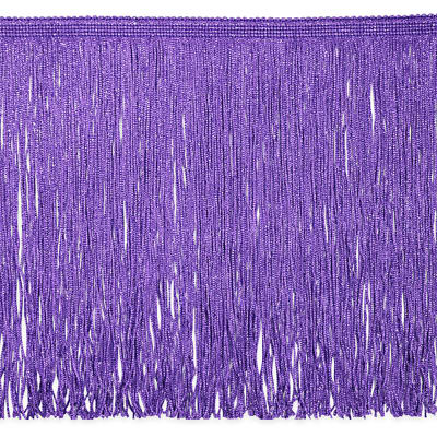 "12"" Metallic Chainette Fringe Trim Lilac"