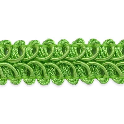 Alice Classic Woven Braid Trim Lime (Precut, 20 Yards)