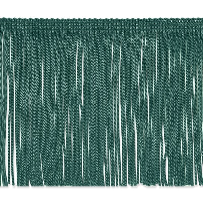 "4"" Chainette Fringe Trim Teal (Precut, 20 Yards)"