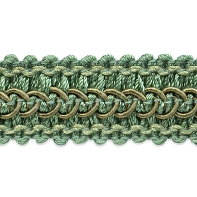 Tala Braided/Scroll Gimp Seafoam (Precut, 20 Yards)