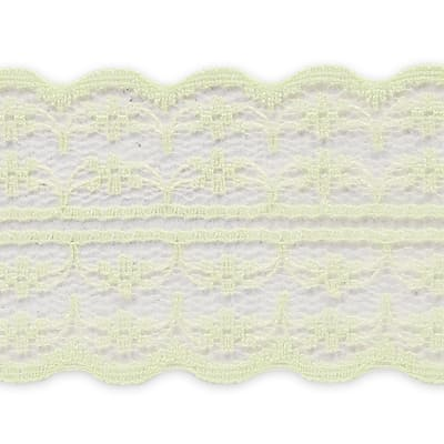 """1 3/4"""" X 20 Yards of Scarlet Lace Trim Ivory (3 Pack)"""
