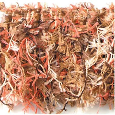 Hairy Gimp Trim Cinnamon Multi (Precut, 10 Yards)