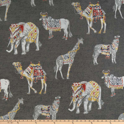 tfa Animal Show Jacquard Charcoal
