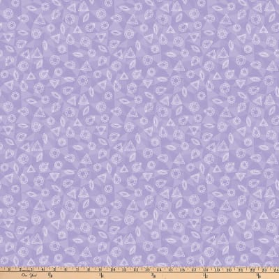 Northcott Facets Tonal Gemstones Lavender