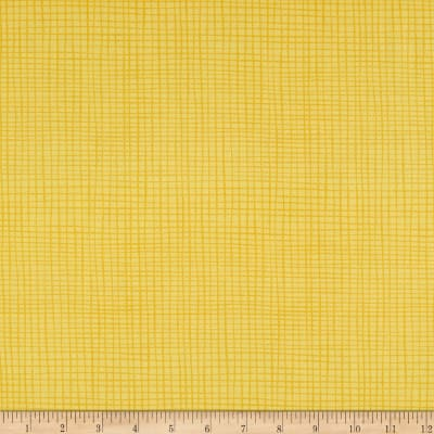 Northcott Sew Sweet Plain Check Yellow