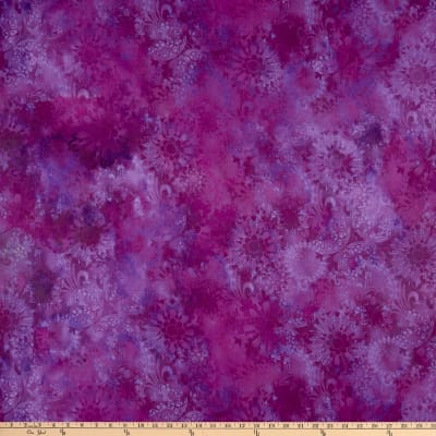 In The Beginning Fabrics Diaphanous Mystic Lace Amethyst