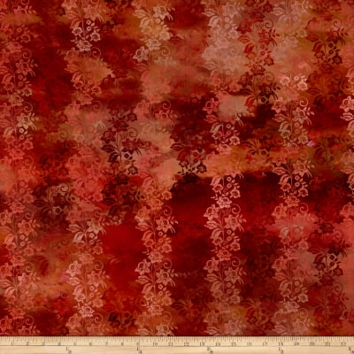 In The Beginning Fabrics Diaphanous By Jason Yenter Enchanted Vines Spice