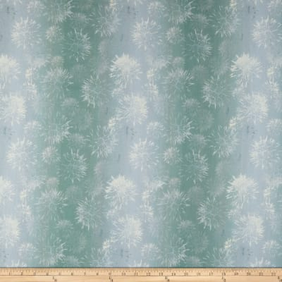 In The Beginning Fabrics Believe Dandelion Seafoam