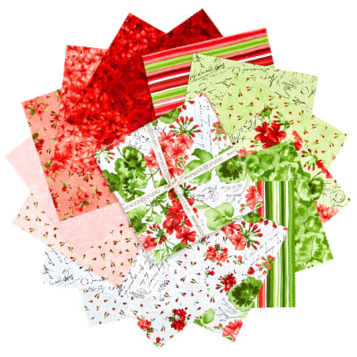 "Maywood Studio 10"" Squares Chloe Precut Multi (42pcs)"