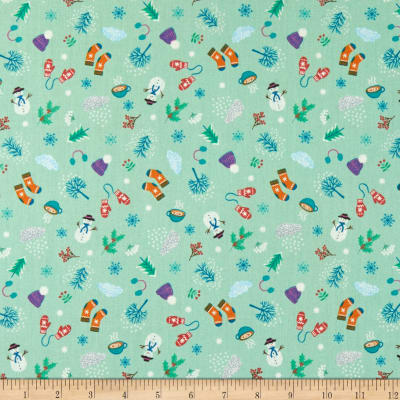Lewis & Irene Whatever The Weather Winter Soft Green