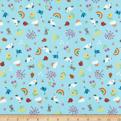 Lewis & Irene Whatever The Weather Spring Duck Egg Blue