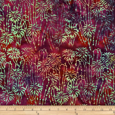 Batik by Mirah Sierra Florals Purple Rose