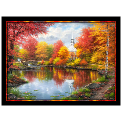 P&B Textiles Autumn Tranquility Autumn Tranquility Panel Multi